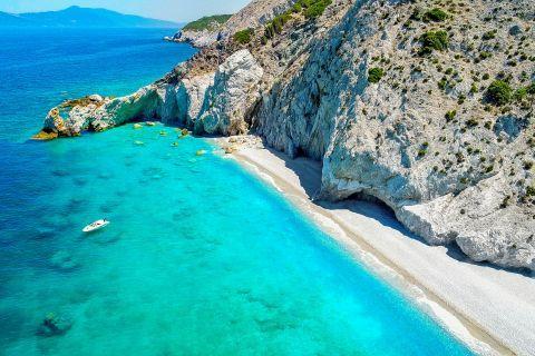 Lalaria: Impressive, azure waters