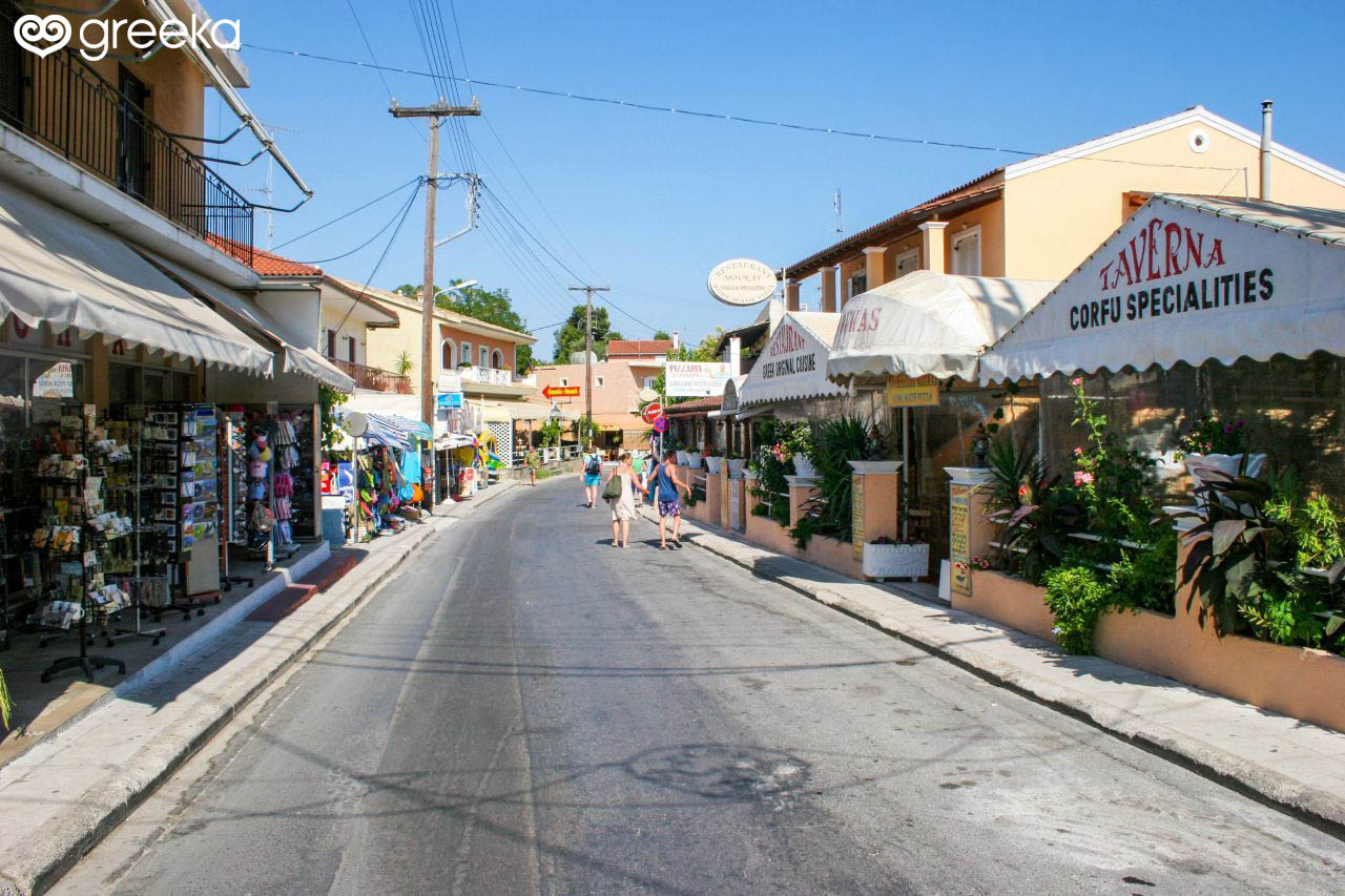 Corfu Gouvia Corfu Villages Greeka Com