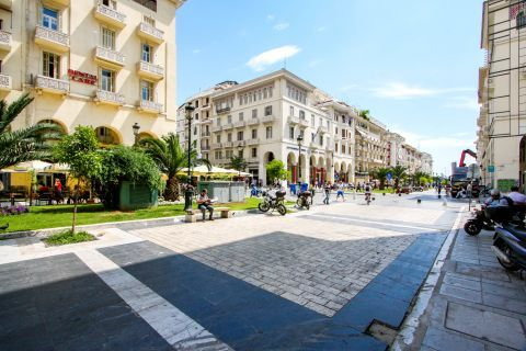 Aristotle Square: Aristotle square is one of the most popular spots for both locals and visitors.