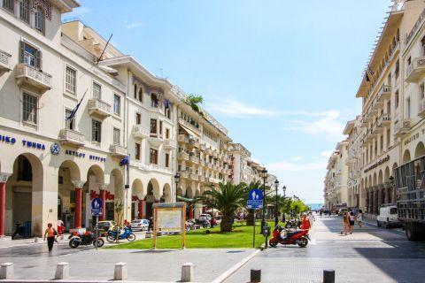 Aristotle Square: Aristotelous Square is the main city square of Thessaloniki