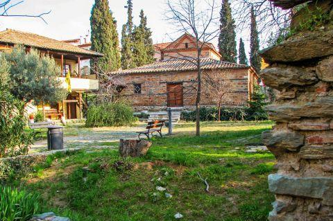 Old Town Ano Poli: The Church of Agios Nikolaos Orfanos
