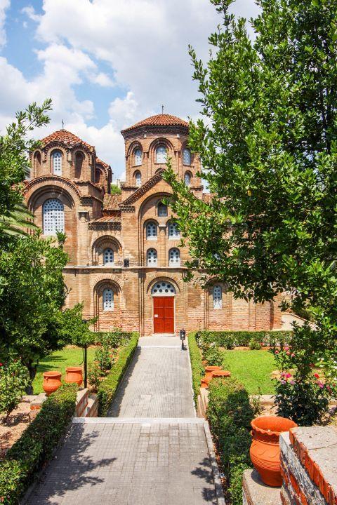 Egnatia: The church of Panagia Halkeon.
