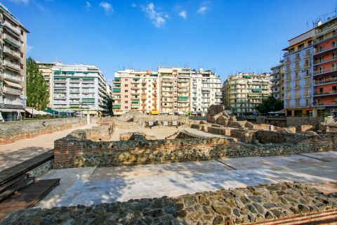 Navarino Square: Today the Galerian Complex is considered to be one of the most significant sights all over Thessaloniki.