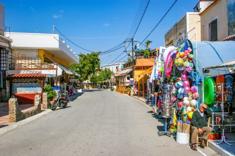 Agia Marina: A central spot with souvenir shops and other interesting places to relax.