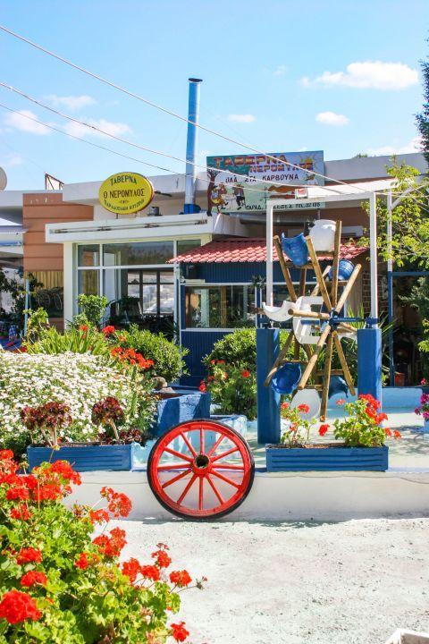 Agia Marina: A local restaurant.