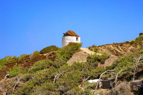 Diafani: An old windmill.