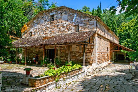 Makrinitsa: Church of the Assumption