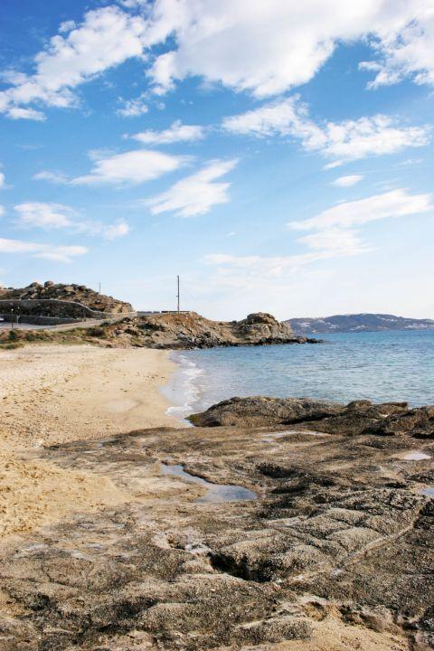 Tourlos: Tourlos beach