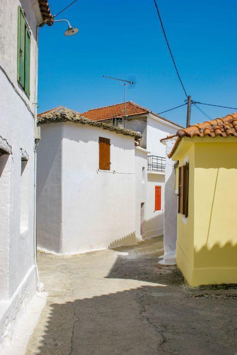 Agios Leon: Local houses.