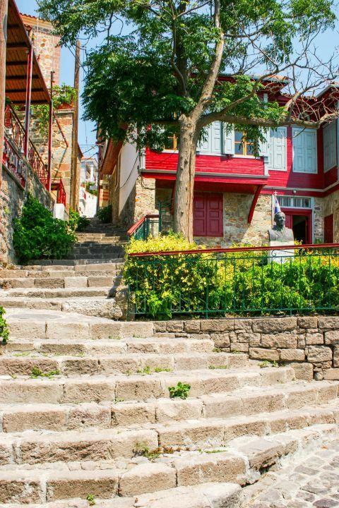 Molivos: A picturesque spot in Molivos village.