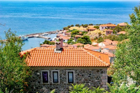 Molivos: Beautiful view.