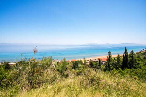 Portello: Portello Beach is surrounded by lush greenery and crystal clear waters.