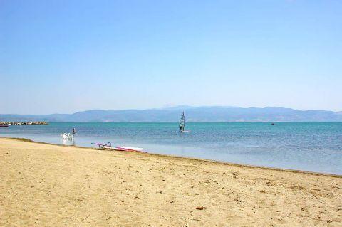 Skala Kalonis: Relaxing sea view.