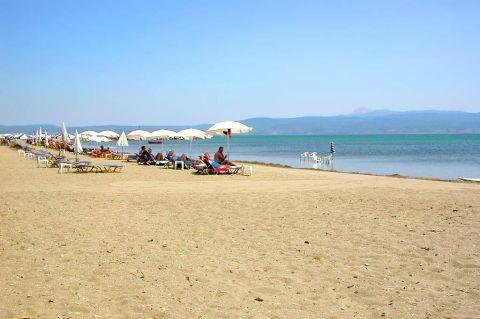 Skala Kalonis: Skala Kallonis Beach.