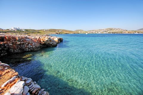Agios Fokas: Turquoise waters
