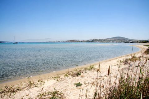 Limnes: Panoramic view of Limnes beach