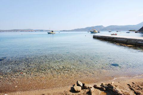 Lagada: Fishing boats and crystal waters