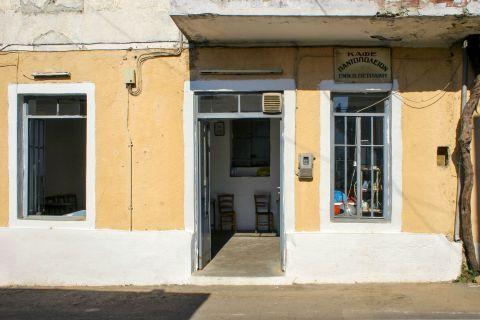 Rodovani: An old shop-kafenio