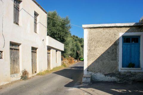 Rodovani: A corner in Rodovani village