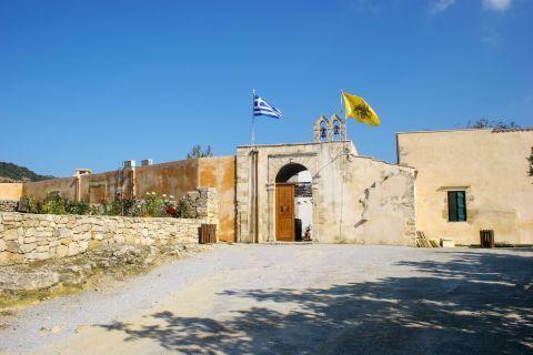 Vamos: Agios Georgios Monastery