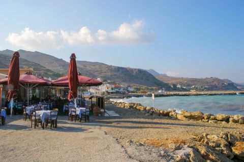 Local eateries close to the sea
