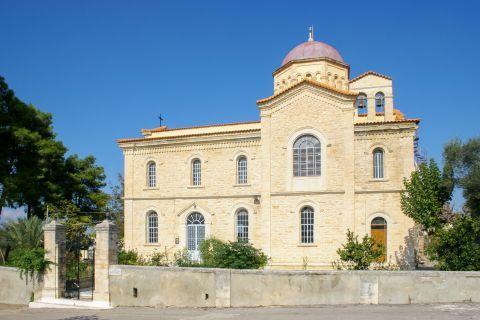 Gavalochori: The impressive church of Agios Sergios