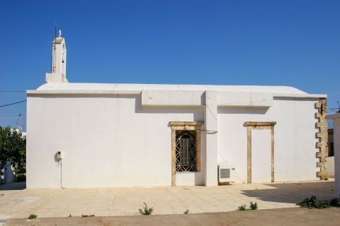 Kalami: A whitewashed church
