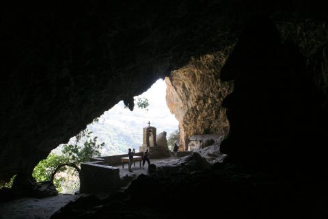 Topolia: Agia Sofia Cave