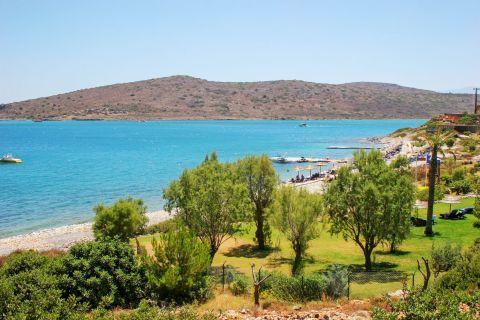 Plaka: Beautiful trees and blue waters
