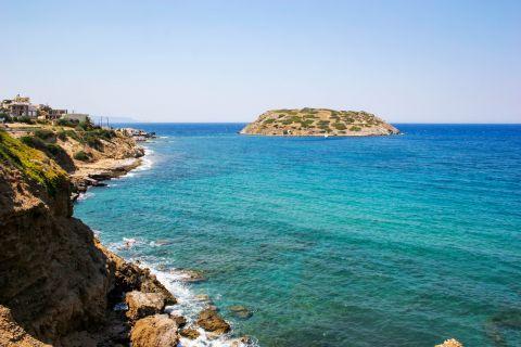 Mochlos: Relaxing sea view from Mochlos village.