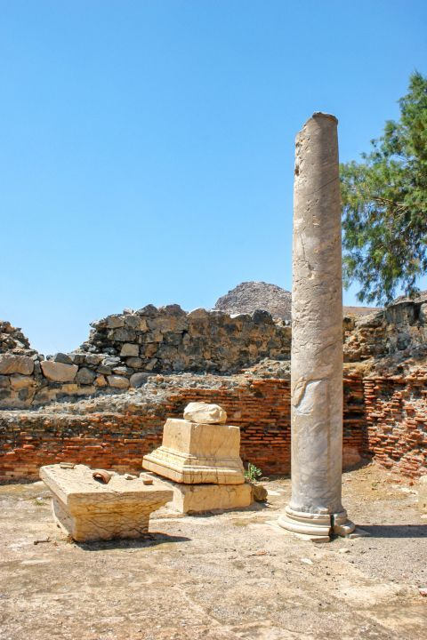 Lentas: The village is built on the site of Ancient Levina
