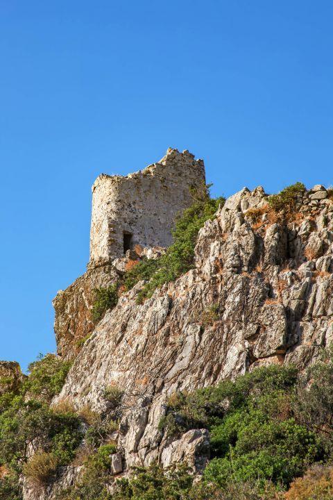 Asklipio: The Medieval Castle of Asklipio.