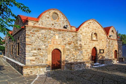 Asklipio: The church of Virgin Mary