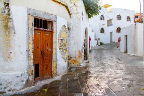 Kalithies: Old, whitewashed houses.