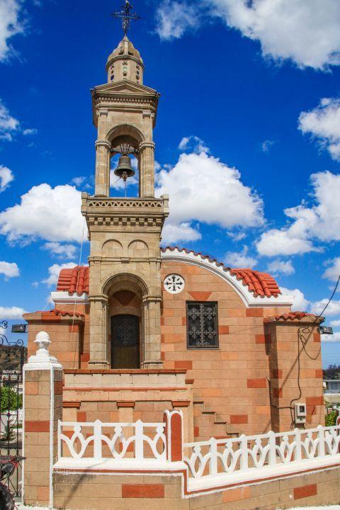 Laerma: A beautiful church in Laerma village.