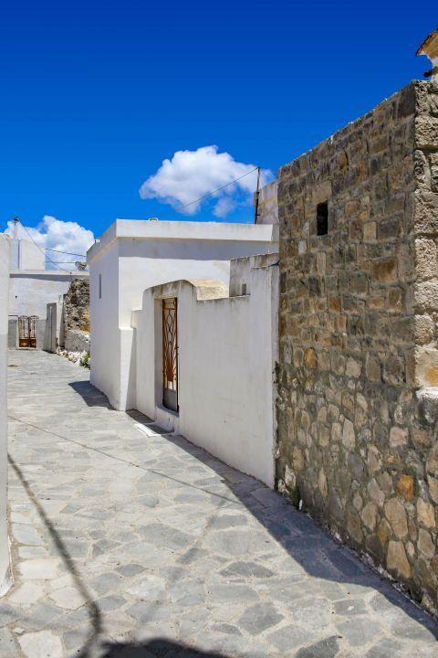 Mesanagros: Buildings in Mesanagros village.