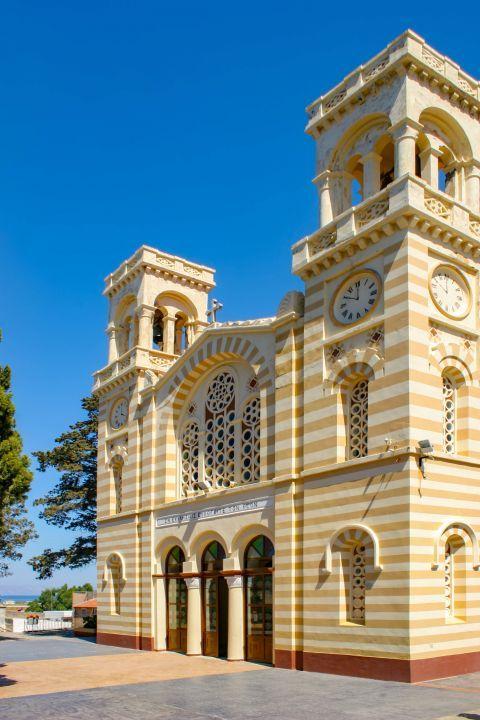 Paradisi Village: An impressive church.