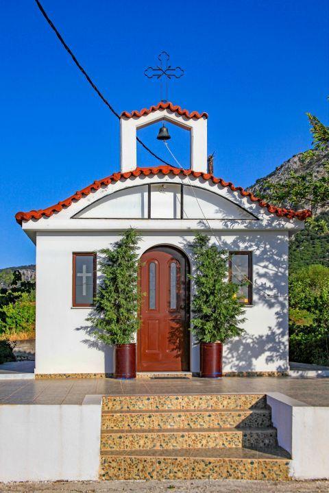 Salakos: A beautiful chapel.