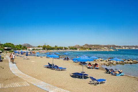 Kathara: Kathara beach.