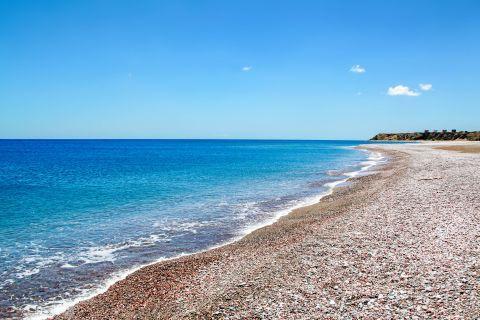 Lachania: Lachania beach