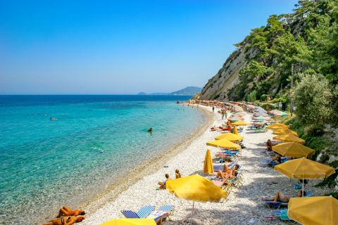 Tsamadou: Tsamadou is among the most beautiful beaches in Samos island.