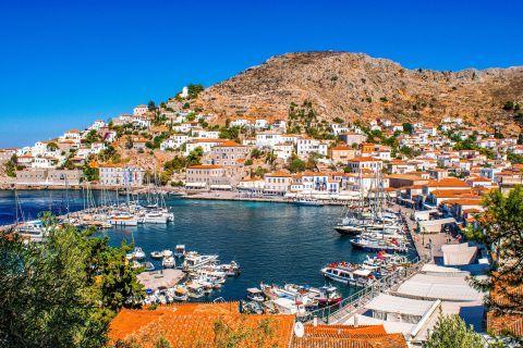Town: Beautiful view of Chora