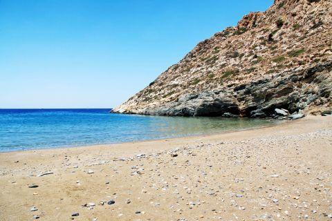 Diamoudia: Sandy beach