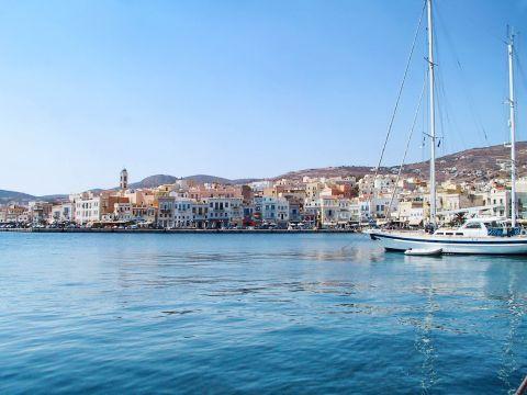 Ermoupolis: View of Ermoupolis, Syros.