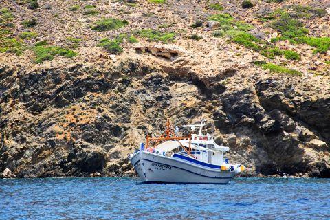 Cape Karatzas: Fishing boat