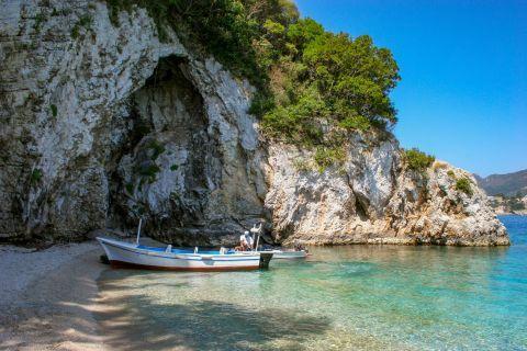 Rovinia: A fishing boat