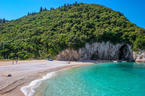 Rovinia: Azure waters and lush vegetation