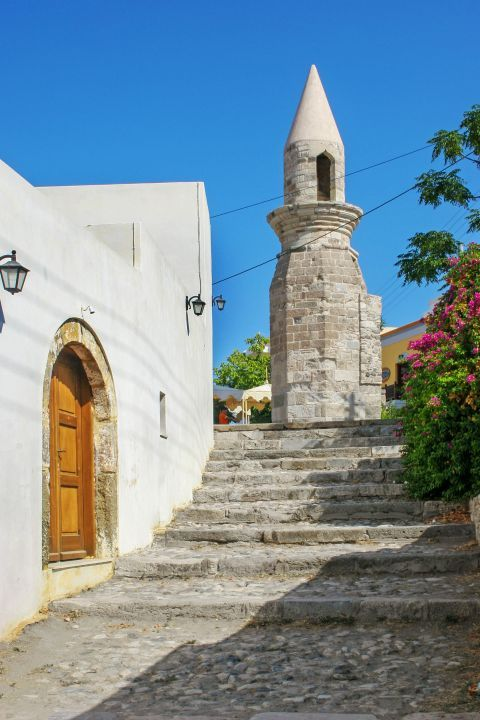 Town: A picturesque corner in Kos Town.