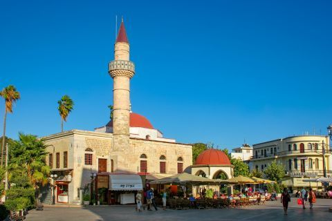 Town: Ottoman Mosque, a historical and architectural landmark of the past.