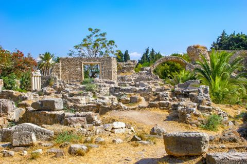 Town: The Ancient Market is a large excavation area, with many interesting historical and architectural findings.